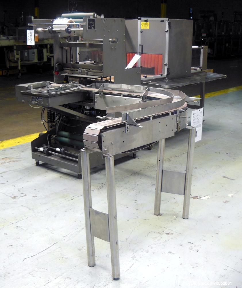 Used- Omega Design Model SL-18 Single Lane Shrink Bundler