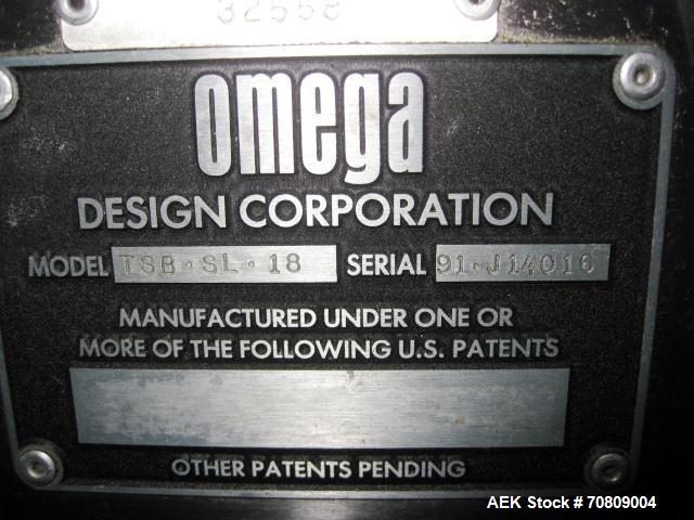 Used- Omega Design Model TSB-SL18 Shrink Bundler