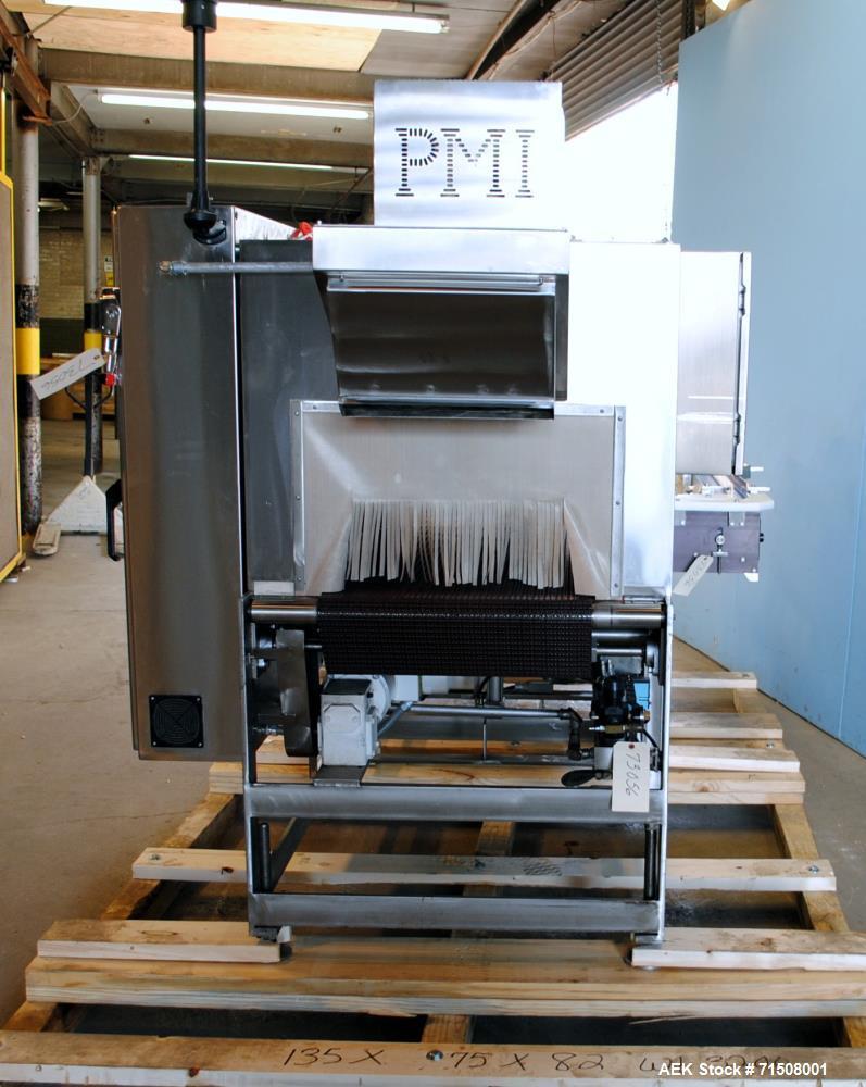 Used- PMI Model GRP25SS Stainless Steel Shrink Bundler