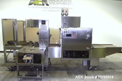 Used- Poly Pack Model PH16 Stainless Steel Shrink Bundler