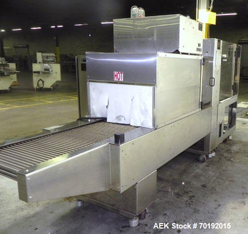Used- Stainless Steel Poly Pack Shrink Bundler, Model PH16