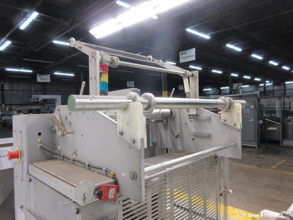 Used- Tetra Pak Model TTS 51 (Tray) Shrink Bundler/Wrapper