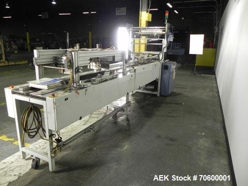 Used- Conflex Model CW170 Horizontal Shrink Wrapper.Rated at speeds up to 100 feet per minute depending on materials and app...