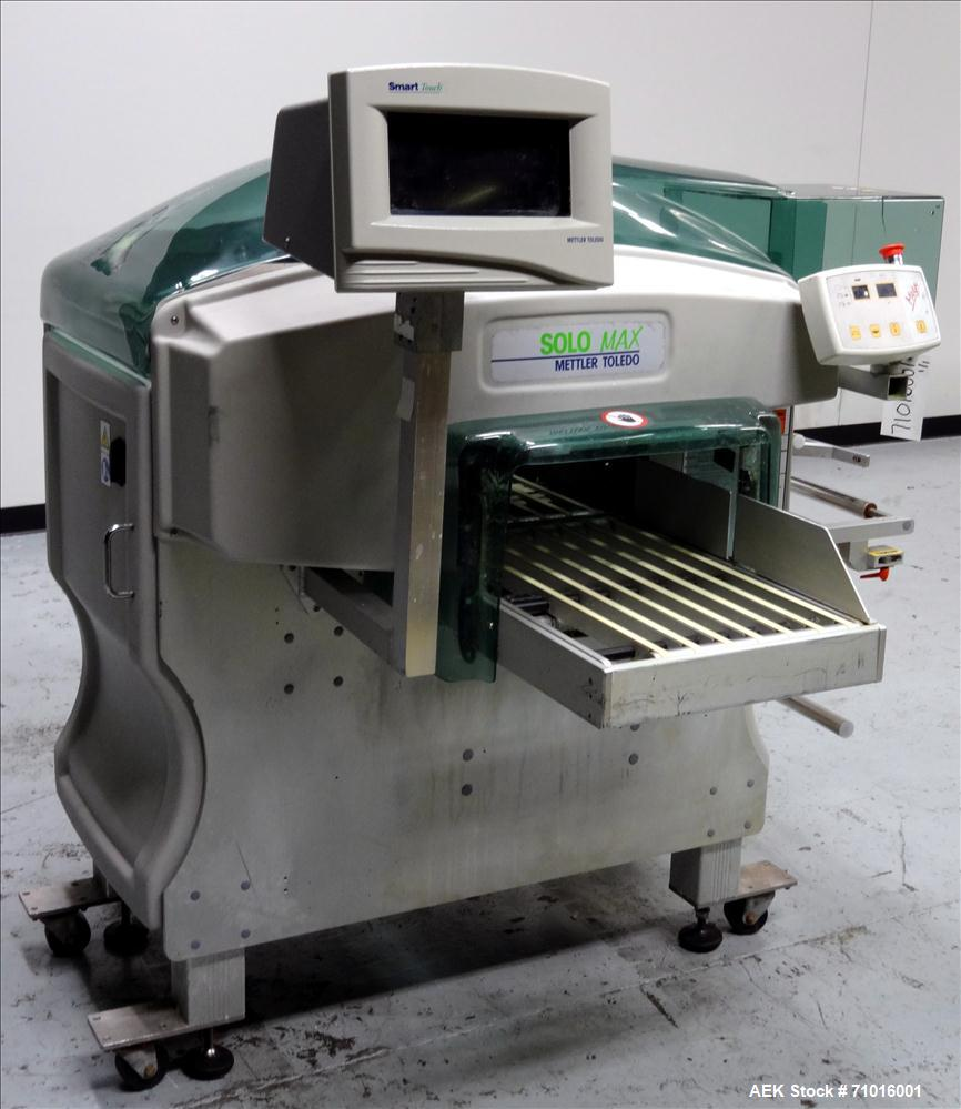 Used- Mettler Toledo Exact Workhorse Model SoloMAX 0647 Automatic Tray Wrapper