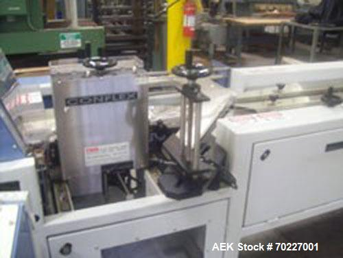 Used-Conflex RSW160 Advantedge Rotary Horizontal Side Seal Shrink wrapper with registration capable of speeds up to 200 pack...