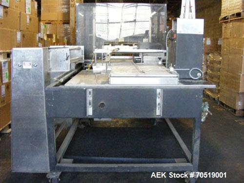 Used-API Lantech Versajet 2200 SS Automatic Continuous Motion Side Seal Automatic Shrink Wrapper