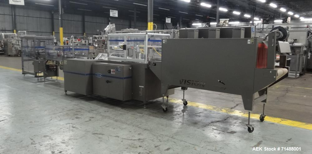 Used- Arpac Great Lakes Model TS37 Vertical Seal Horizontal Shrink Wrapper