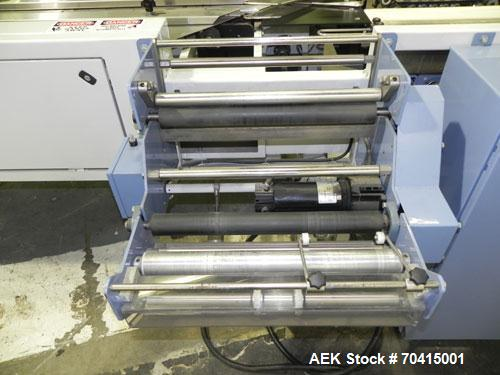 Used- Conflex RSW 160 Advantedge Rotary Horizontal Side Seal Shrink Wrapper. Machine is registration capable, and can perfor...
