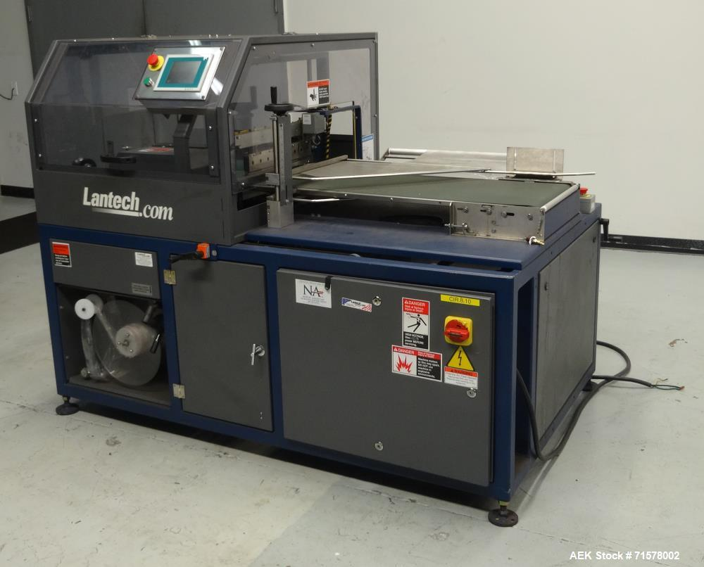 Used- Lantech Model SW1000 Automatic Side Seal Shrink Wrapper