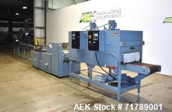 Used- Shanklin HS1 Shrink wrapper with Shanklin Model T-72 Dual chamber shrink t