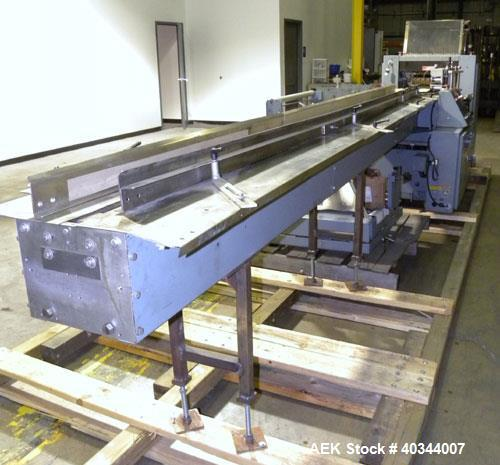 Used- Shanklin Horizontal Side Seal Shrink Wrapper, Model F-5B