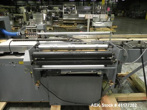 Used- Shanklin Model F-1 Horizontal Shrink Wrapper