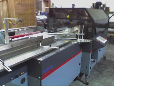"Used-Used: Shanklin Omni-S horiz FFS. Is perimeter-style wrap, equipped with 8' lugged infeed conveyor, (lugs about 2"" wide)..."
