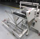 Used- Texwrap Continuous Motion Side Seal Horizontal Shrink Wrapper