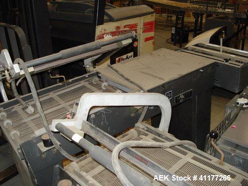 Used- Eastey Semi Automatic L-Bar Shrink Sealer, ModelEM1622T