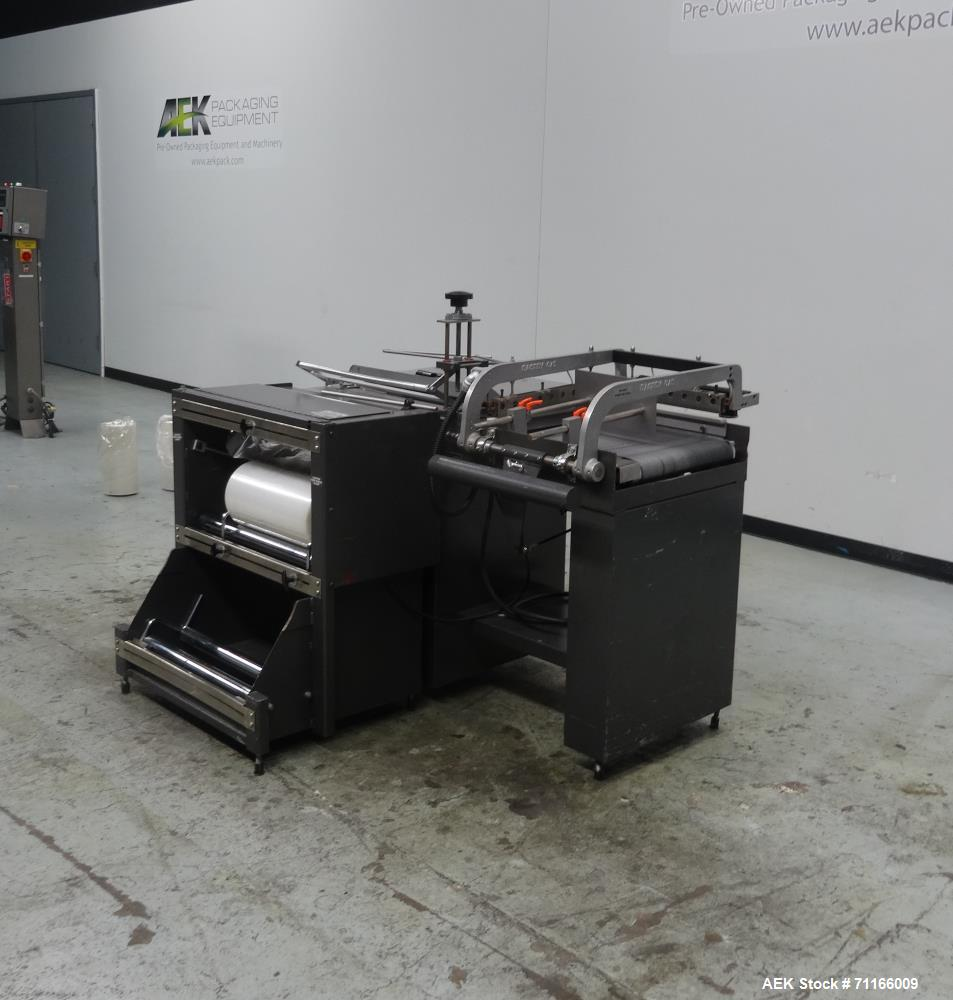 Used- Eastey Model EM16TK Manual L-Bar Sealer