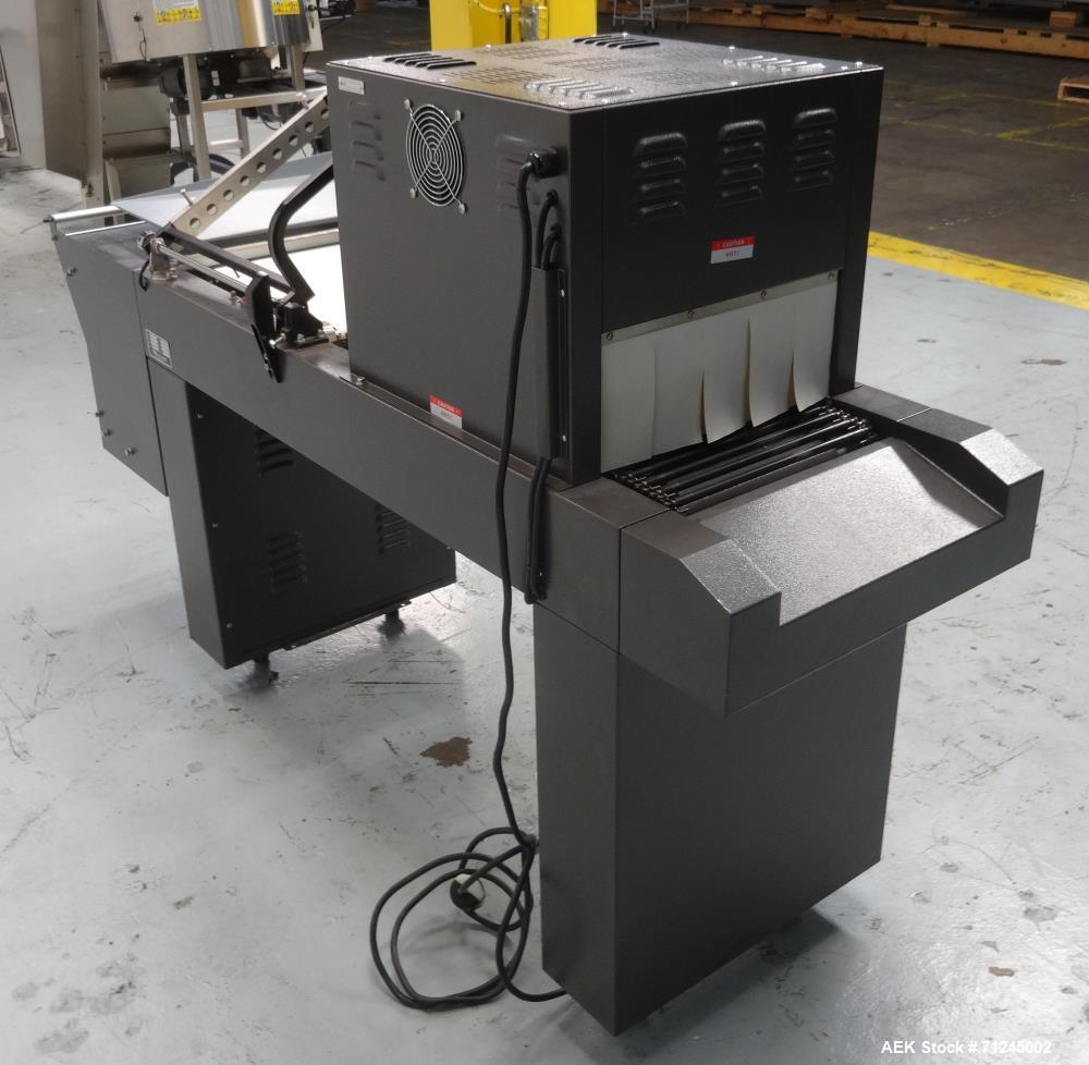 Used- GHL Packaging Model PP1519ECMC-L Semi-Automatic L-Bar Sealer