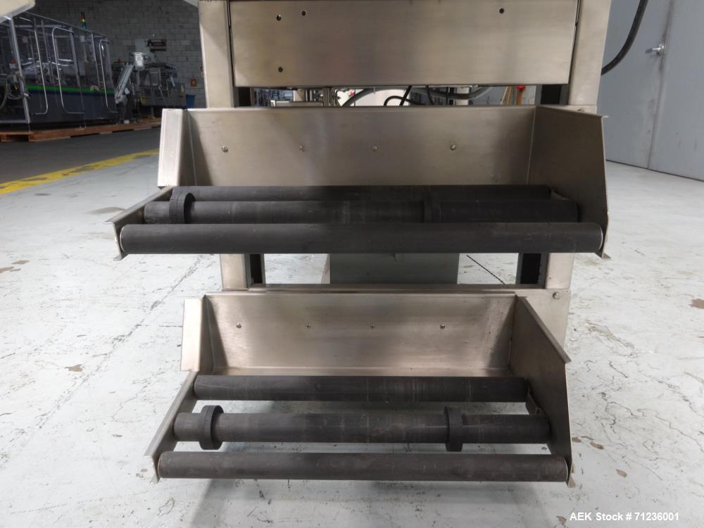 Used- Heat Seal Model HS-217ST Semi-Automatic L-Bar Sealer