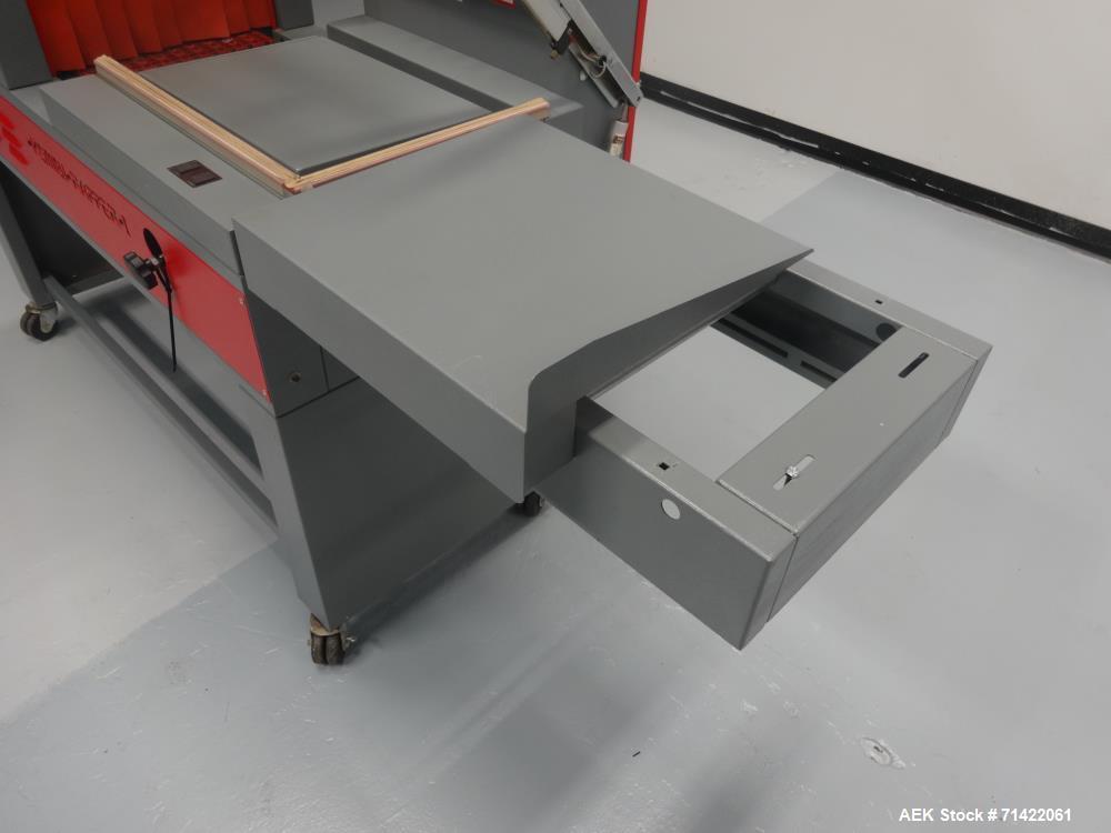 Used- Seal-A-Tron Model Kombi-Rapper I Semi-Automatic L-Bar Sealer