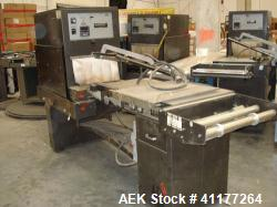 Used- Eastey EM16TT Combination Manual L-Bar Sealer and Shrink Tunnel, Model EM16TT