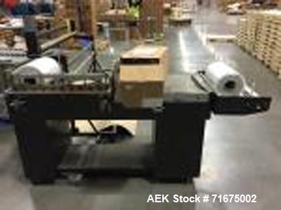 Used-Prefered Packaging Model PP2028HK Manual L Bar Sealer Serial J6 00203