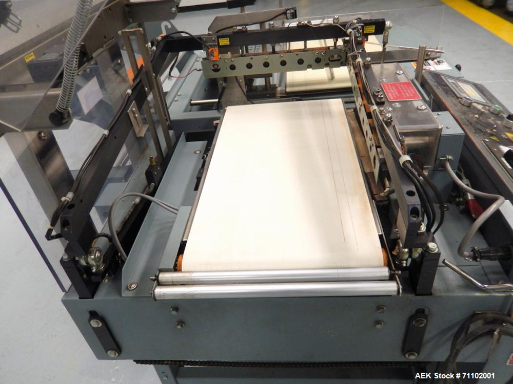 Used-Shanklin Model A-26A Automatic L-Bar Shrink Wrapper