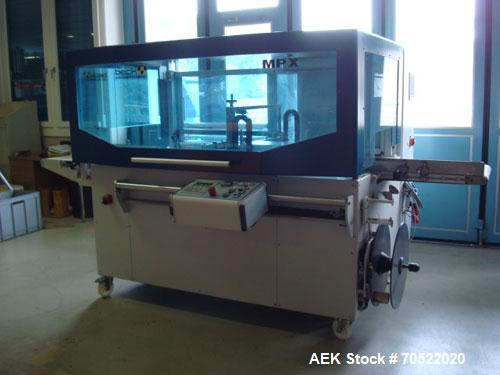 Used-Beck MP 240X/HV 601 HPLS Foil Wrapper with shrinking tunnel.  Comprised of (1) automatic form shoulder machine for semi...