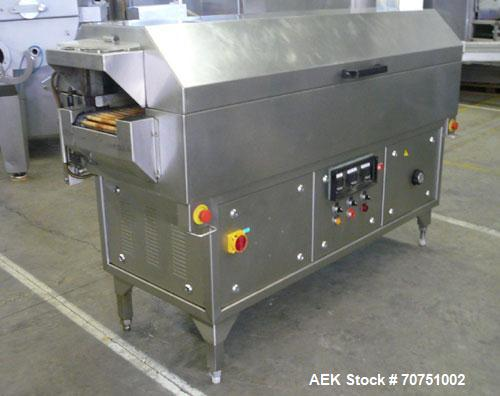 Used-Stainless Steel Cryovac CJ 51 LH-T Shrink Tunnel