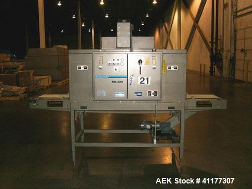 Used- Doboy Model SK-200 High Speed Shrink Tunnel