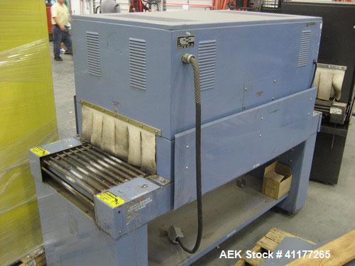 Used- Carbon Steel Eastey Shrink Tunnel, Model ET2008