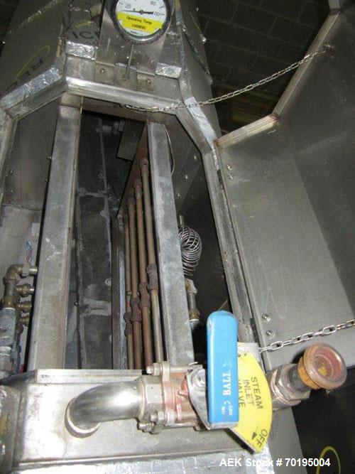 "Used- Graham Labelling Systems Steam Shrink Tunnel comprised of (2) sections measuring 11'-8"" long and 4'-6"" long. Opening m..."