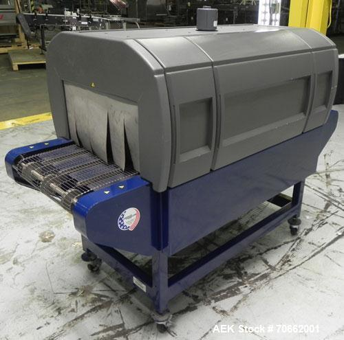Used-Lantech Model ST-900 Shrink Tunnel. Capable of speeds up to 90 feet per minute dependent on package configuaration and ...