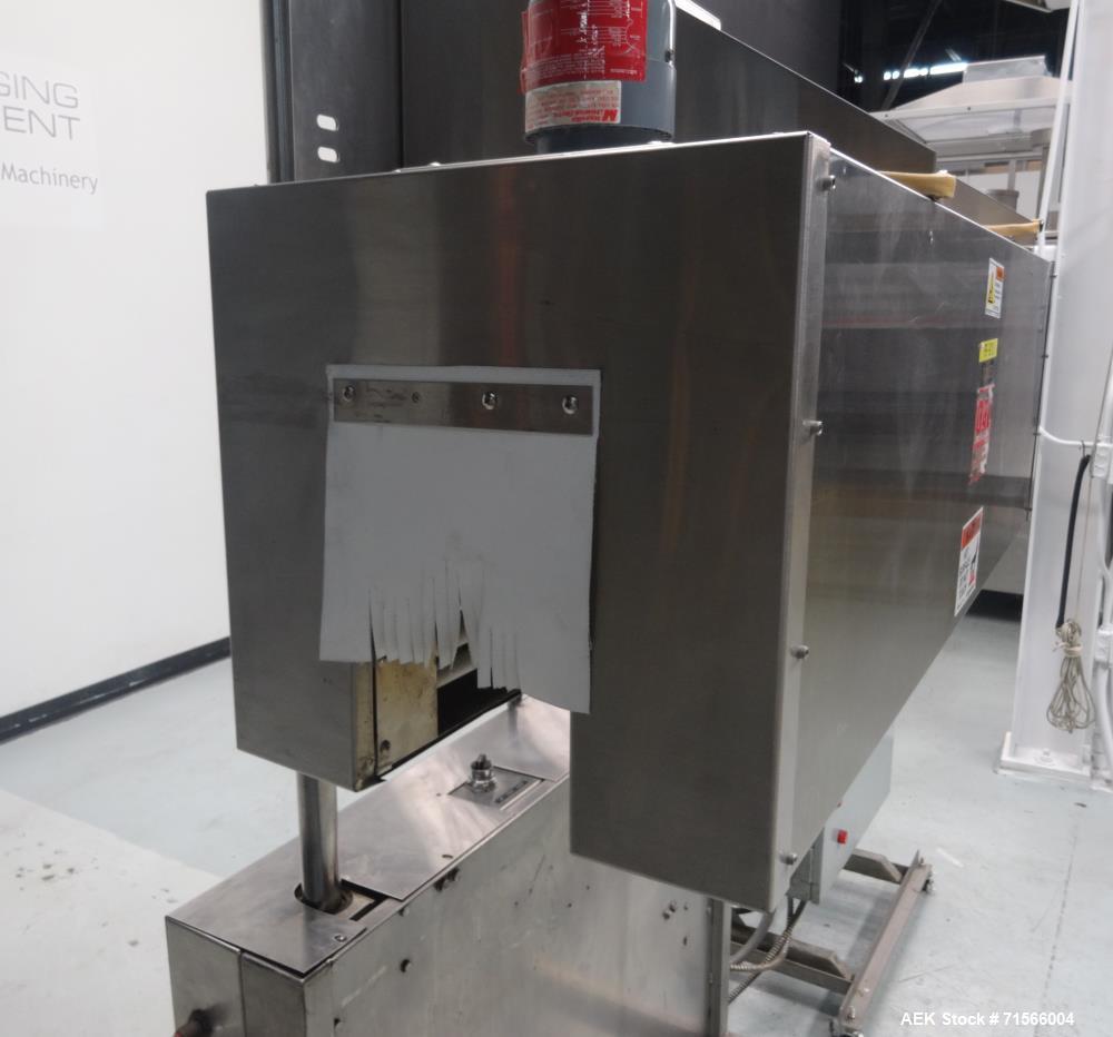 Used- OAL Associates Model FIRO/R-6/9/48-6L Neckband/Shrink Sleeve Electric Shri