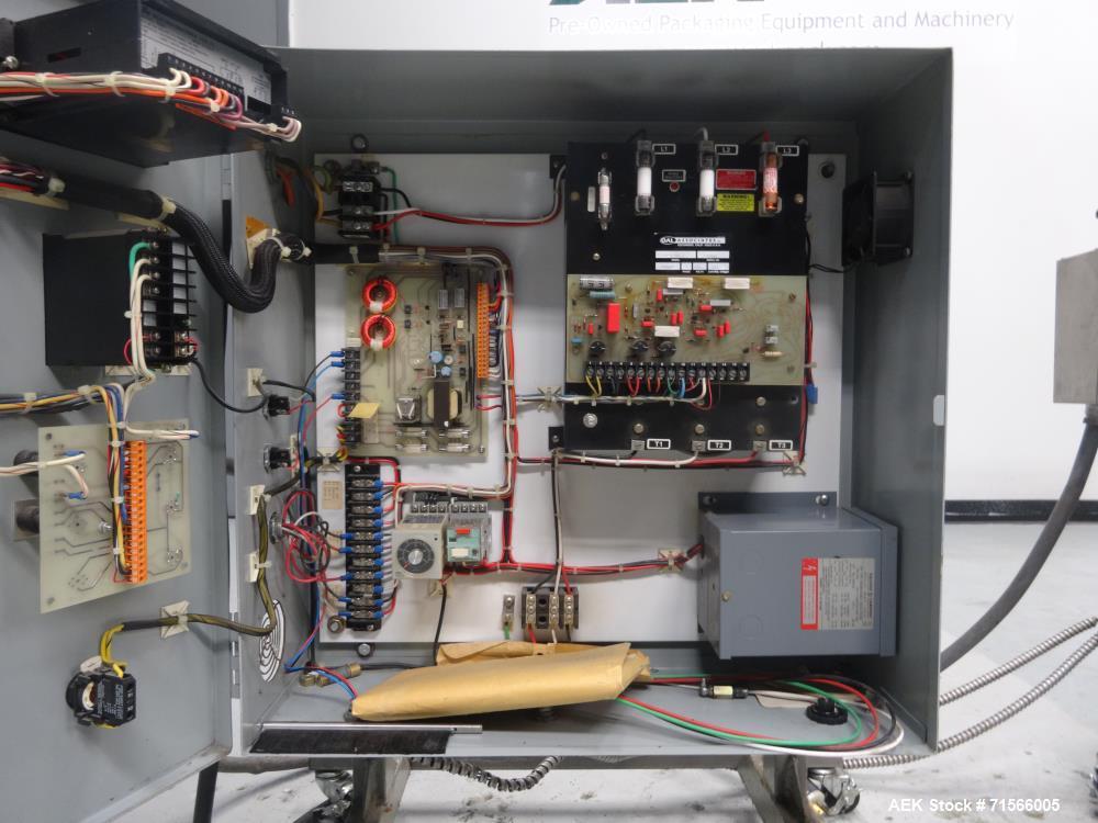 Used- OAL Associates Model FIRO/R-6/9/48-6L Neckband/Shrink Sleeve Heat Tunnel