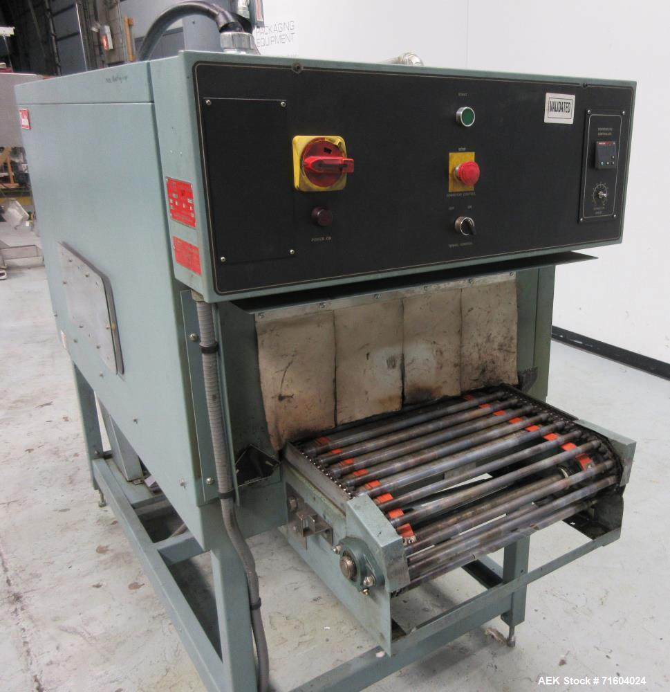 Used- Shanklin T-71 High Speed Shrink Tunnel