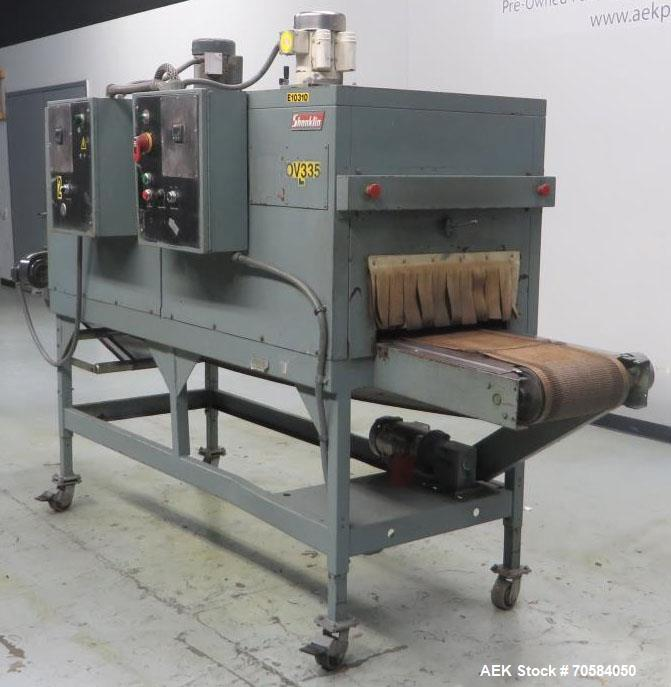 Used- Shanklin Model T-72 Dual Chamber Shrink Tunnel