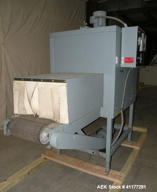 Used- Carbon Steel Shanklin Shrink Tunnel, Model T-7XL