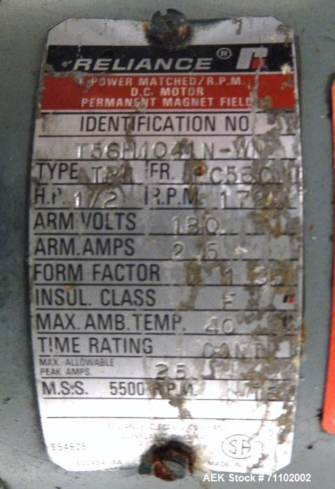 Used-Shanklin Model T-7XL Shrink Tunnel