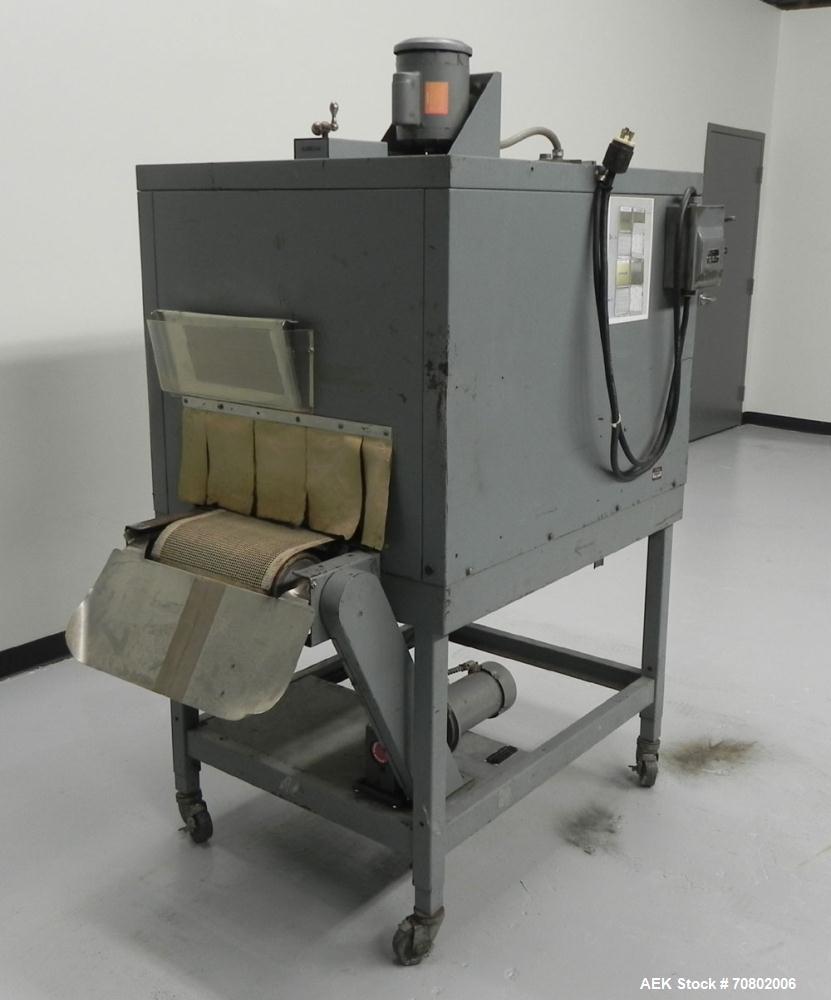 Used- Shanklin Model T-7XL Single Zone Heat Shrink Tunnel