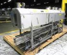 Used- Graham Labelling Systems Steam Shrink Tunnel comprised of (2) sections measuring 11'-8