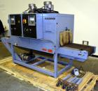 Used- Shanklin Dual Zone Shrink Tunnel, Model CT62, Carbon Steel. Tunnel passage 10