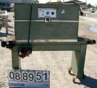 Used- Weldotron Console Shrink Tunnel, Model 7121, Carbon Steel. Approximate 46