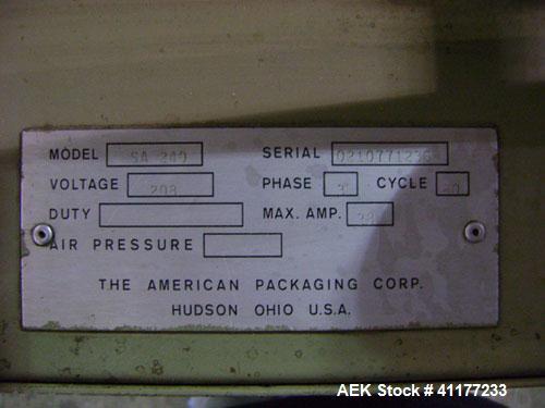 Used- Ampak Semi Automatic Heavy Duty Skin Packaging Machine, Model SA 240