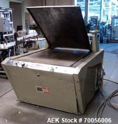 "Used- Ampak Rotomatic Die Cutter, Model 3340. 33"" x 40"" Cutting area, 68"" long x 50"" wide x 68"" high, 5.5"" max product heigh..."