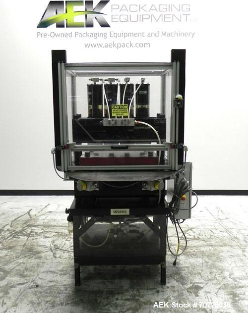 Used- Multicage Four-Post Die Cutter Air Press
