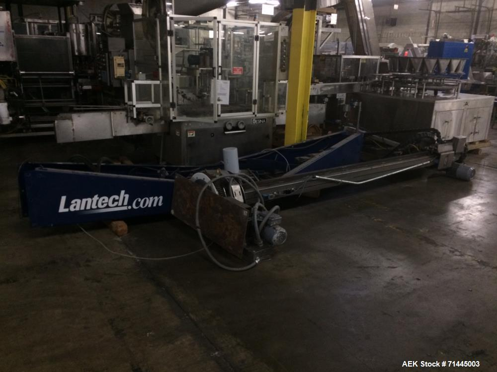 Used-Lantech Model S2503 Automatic Stretch Wrapper