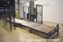 Used- Lantech Model Q1000 Automatic Stretch Wrapper