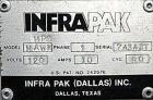 Used- InfraPak Hawk HPS Strecth Wrapper, Carbon Steel. 50