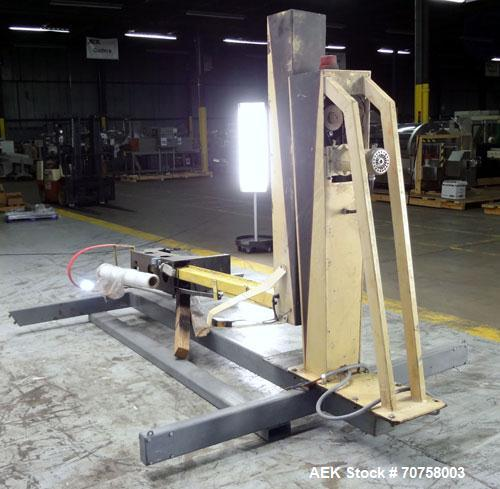 Used- ITW Muller Cobra IV Semi-Automatic Rotary Arm Stretch Wrapper