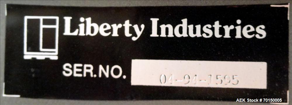 Used- Liberty Industries Series 5.1 Semi-Automatic Stretch Wrapper